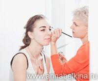 Визажист-стилист Анна Белкина. Окрашивание бровей и ресниц