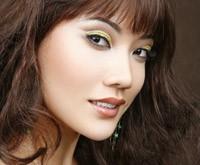 мастер-класс по макияжу для карих глаз - Золотистый песок